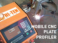 Mobile CNC Plate Profiler